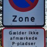 Nye P-zone skilte